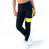 CALAO Leggings high waist - neon yellow