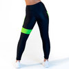 CALAO Leggings high waist - neon green