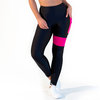 CALAO Leggings high waist - neon pink