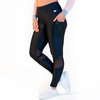CALAO Leggings high waist - mesh black